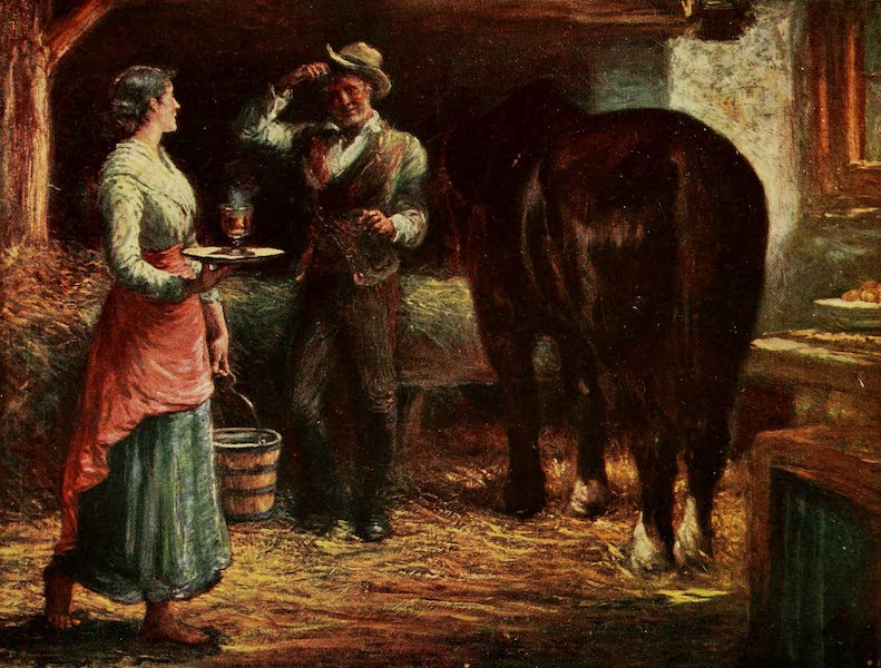 Ireland Painted and Described - Refreshment for Man and Beast (1907)
