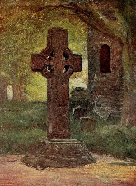 Ireland Painted and Described - Saint Columbkille's Cross, Kells (1907)