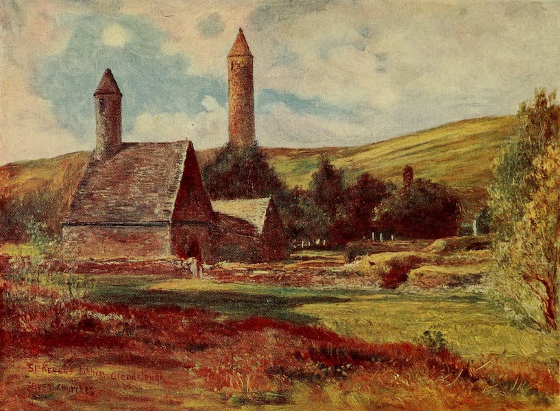 Ireland Painted and Described - St. Kevin's Church (1907)