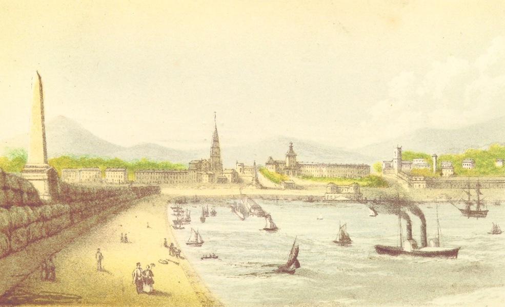 Irish Varieties - View of Kingstown from the Boyd Memorial East Pier (1874)