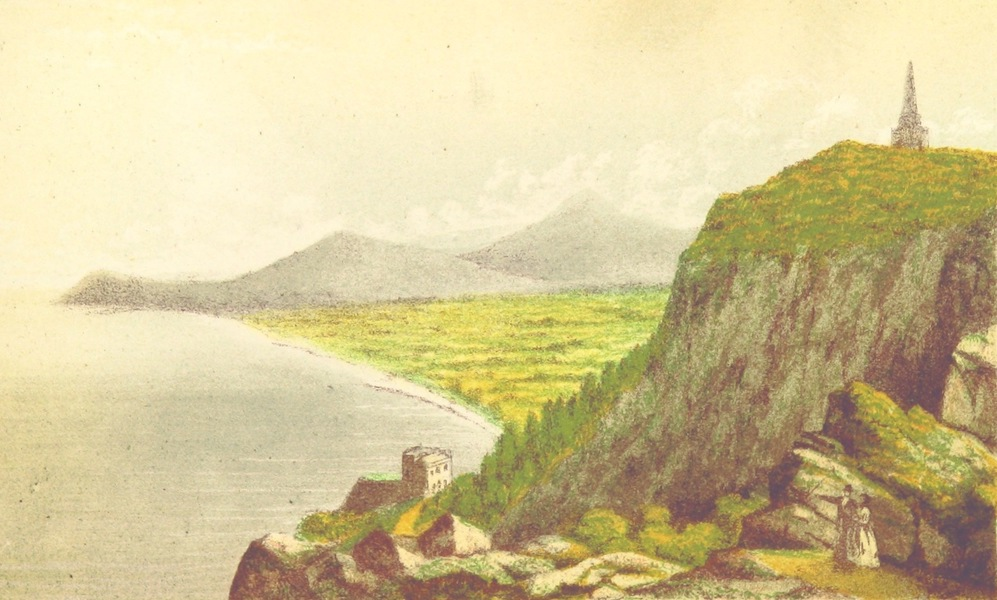 Irish Varieties - View of Killiney Hill and Bay from the Obelisk (1874)