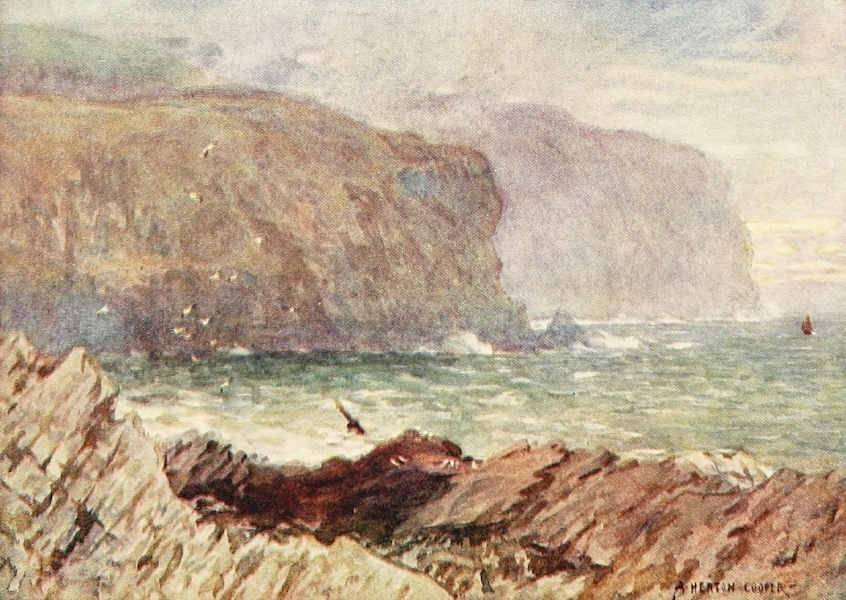 Isle of Man Painted and Described - The Hamlet of Cregneesh and the Calf of Man (1909)