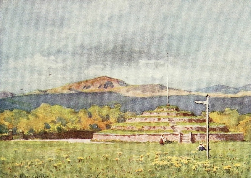 Isle of Man Painted and Described - Dhoon Glen (1909)