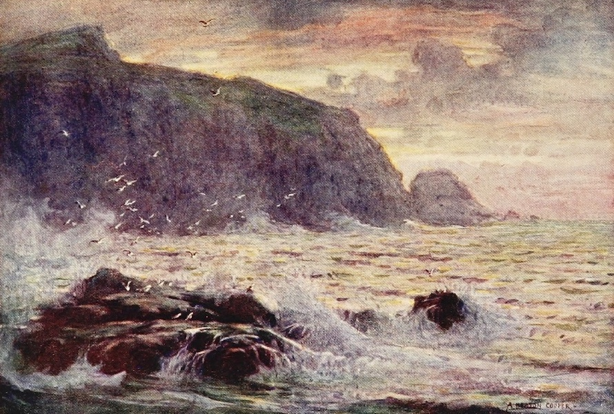 Isle of Man Painted and Described - Ramsey Bay (1909)