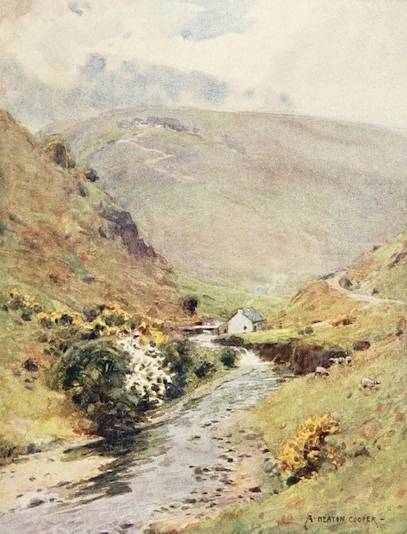 Isle of Man Painted and Described - The Ballaugh Curragh (1909)