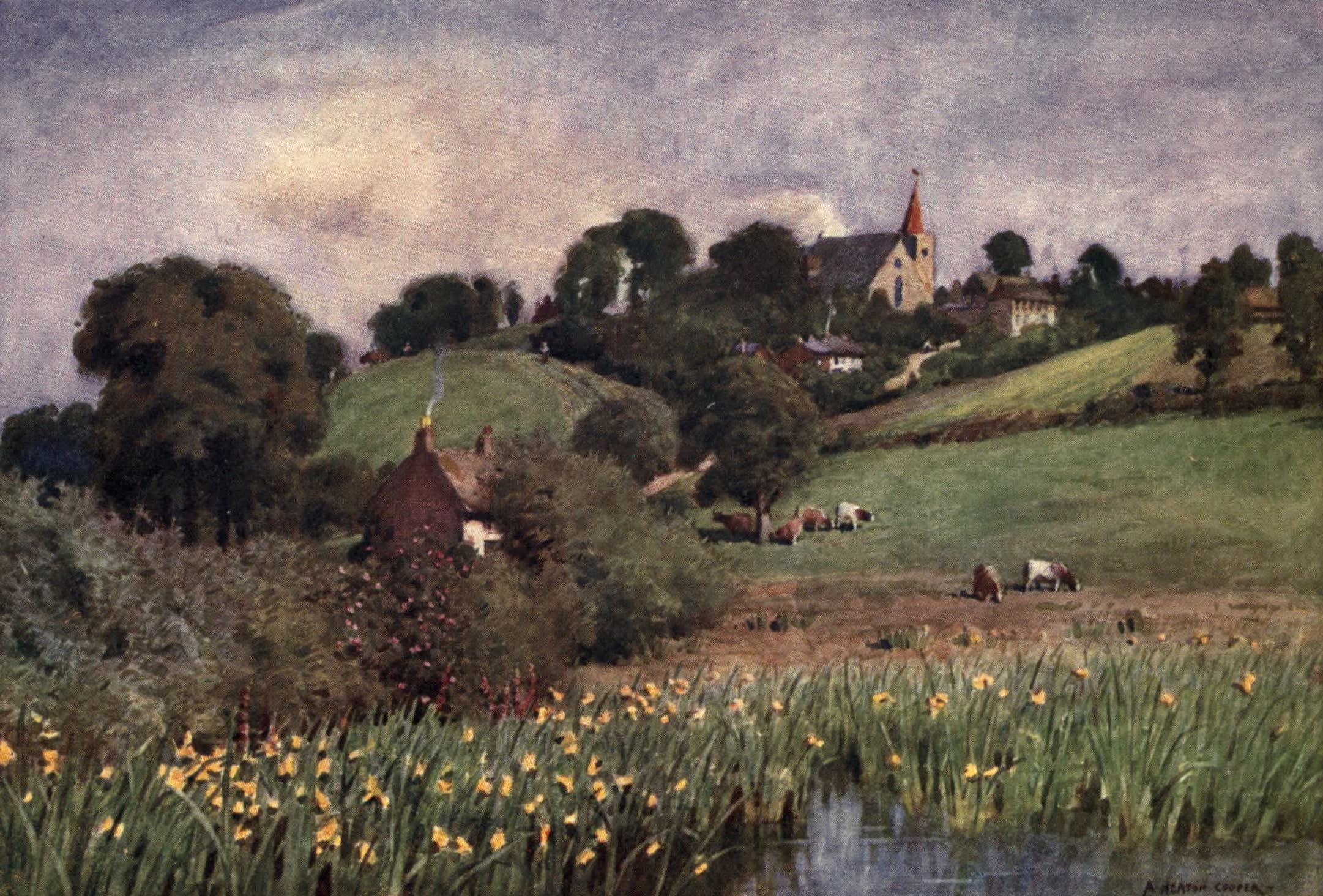 Isle of Wight Painted and Described - Newchurch—the Mother Church of Ryde (1908)