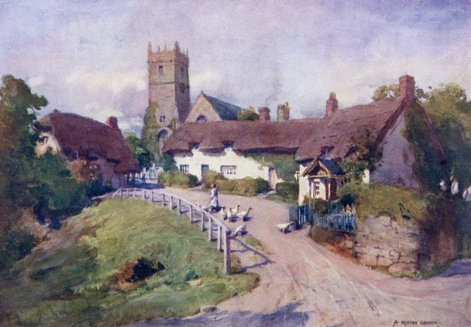 Isle of Wight Painted and Described - Godshill (1908)
