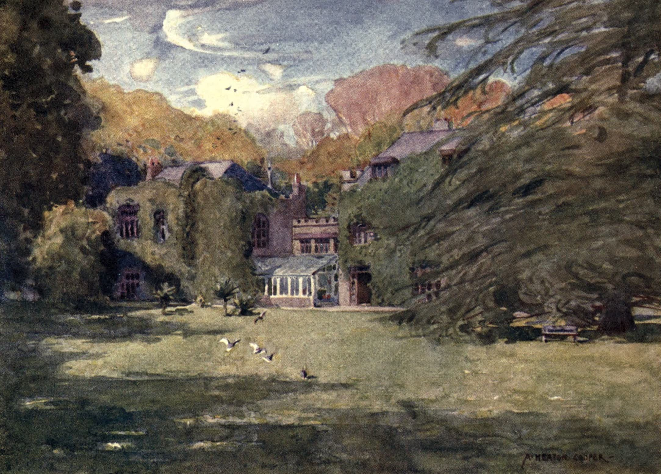 Isle of Wight Painted and Described - Farringford House (1908)