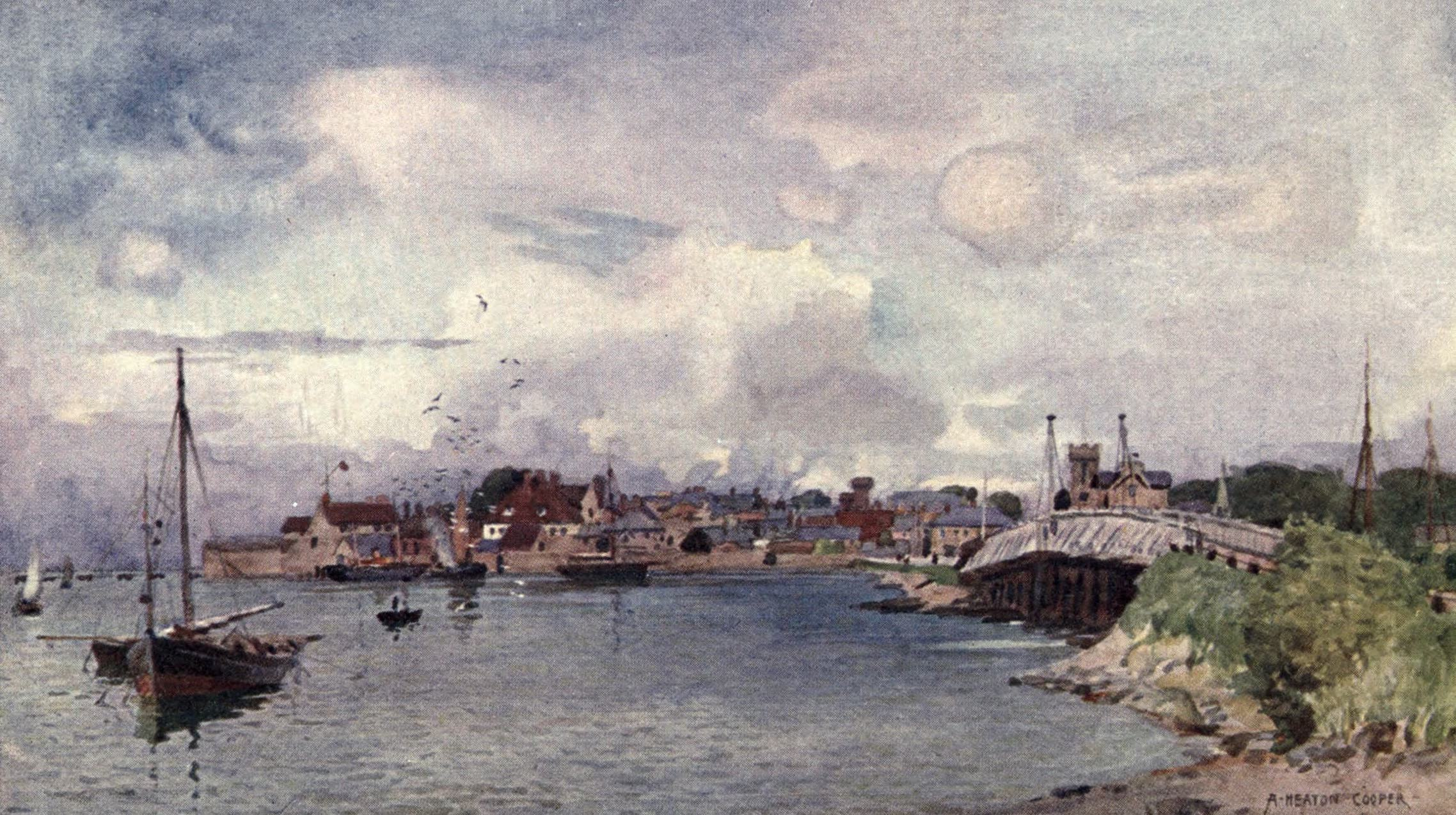 Isle of Wight Painted and Described - Yarmouth (1908)
