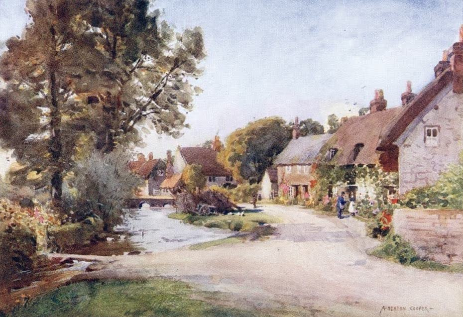 Isle of Wight Painted and Described - Calbourne (1908)
