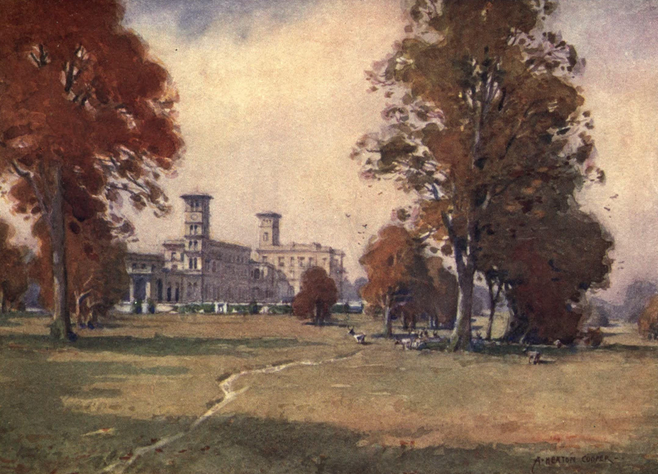 Isle of Wight Painted and Described - Osborne House (1908)