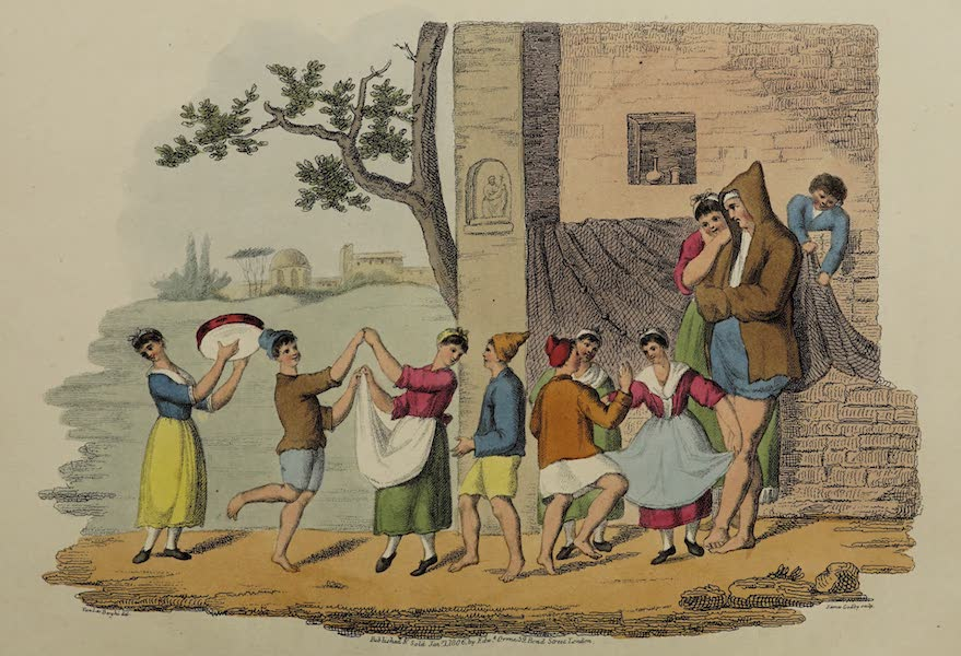 Italian Scenery - Dance of Lazzaroni Children (1806)