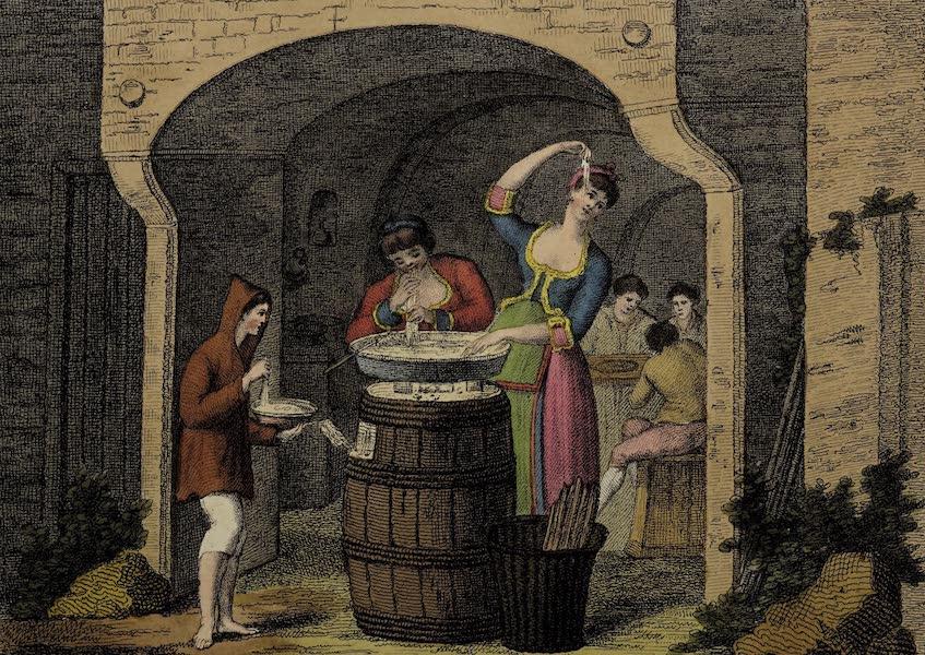 Italian Scenery - Neapolitans Eating Macaroni (1806)