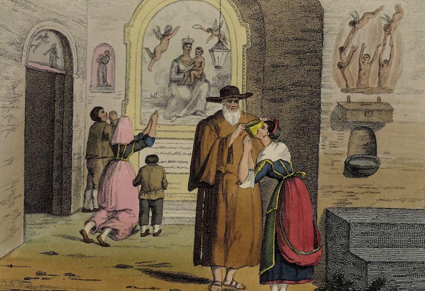 Italian Scenery - The Hermitage [of Capua] (1806)