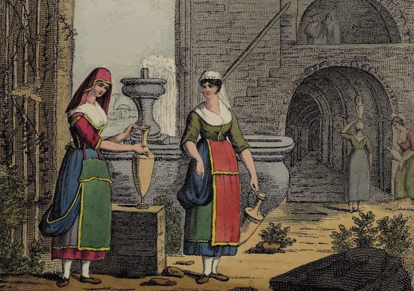 Italian Scenery - The Fountain of Capua (1806)