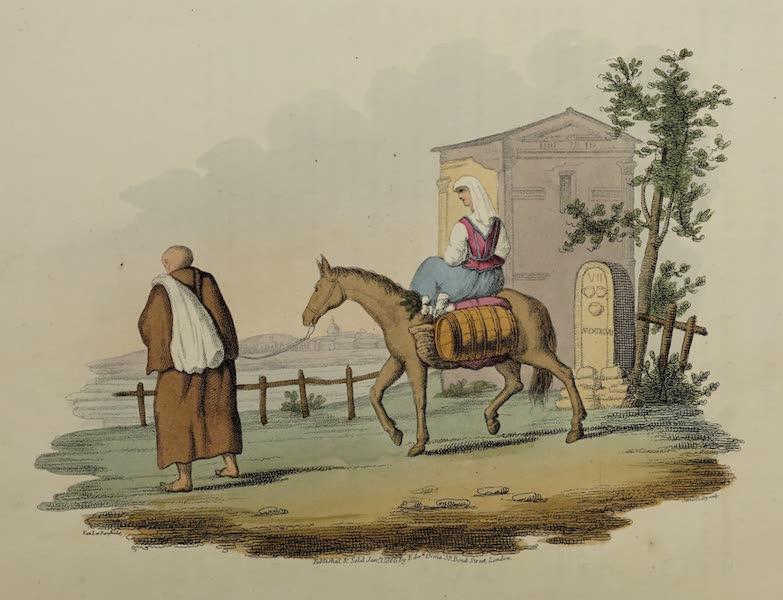 Italian Scenery - A Capuchin Friar (1806)