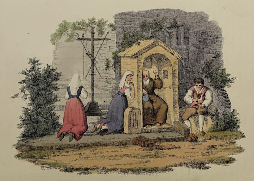 Italian Scenery - The Confessional [of Albano] (1806)