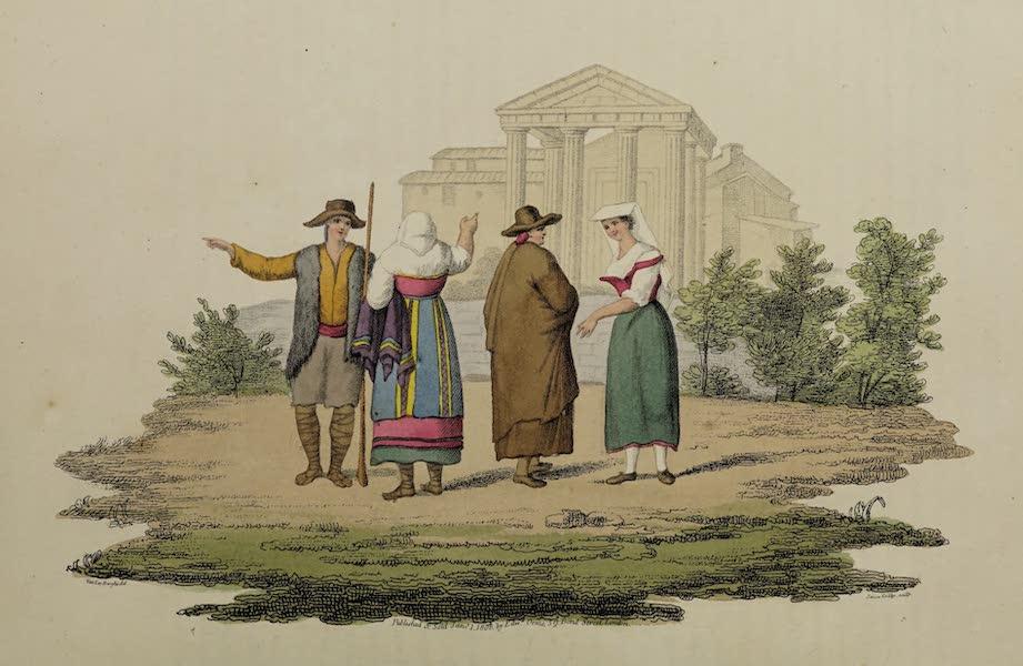 Italian Scenery - The Temple of Hercules (1806)