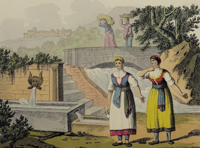 Italian Scenery - A Fountain at Masso (1806)