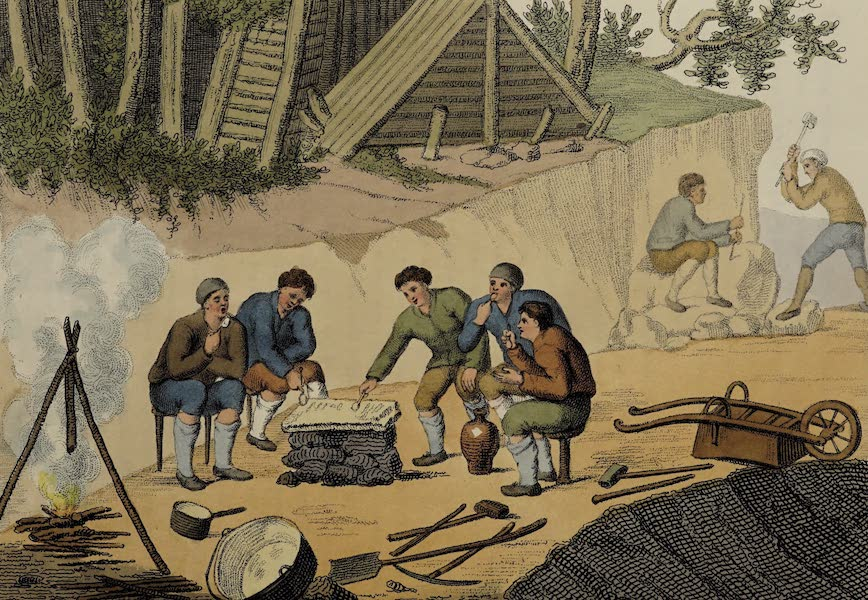 Italian Scenery - The Miners (1806)