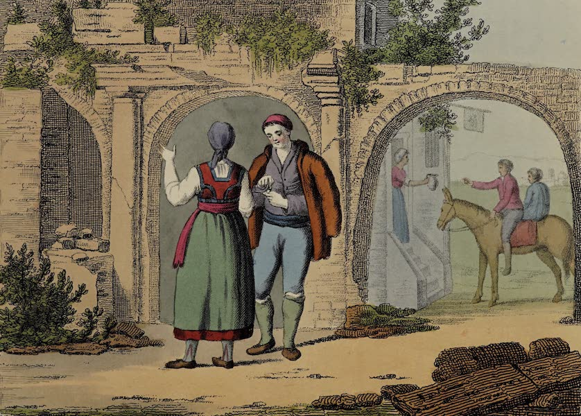 Italian Scenery - A Country Inn (1806)