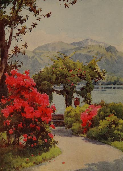 Italy - Villa Carlotta, Lake Como (1913)