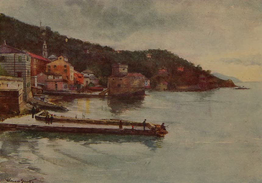 Italy - Rapallo - on the Italian Riviera (1913)
