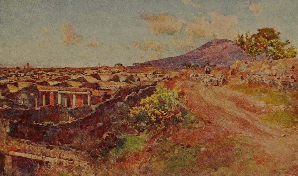 Italy - Pompeii covered and uncovered (1913)