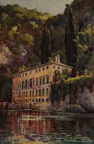 Italy - Villa Pliniana, Lake Como (1913)