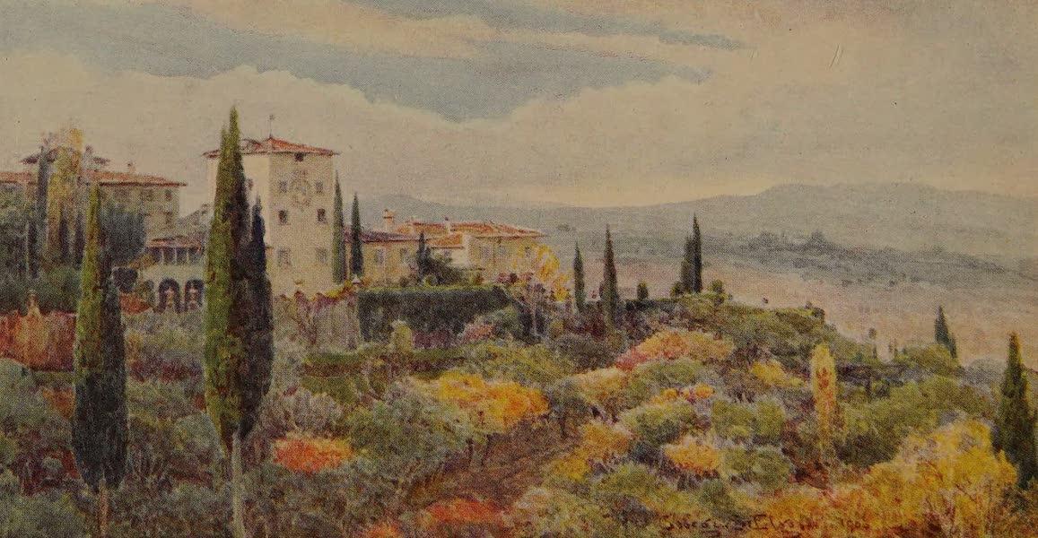 Italy - A Tuscan Villa (1913)