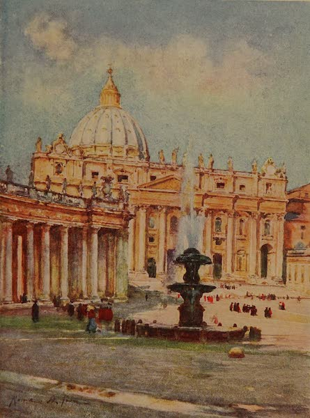 Italy - St. Peter's, Rome (1913)