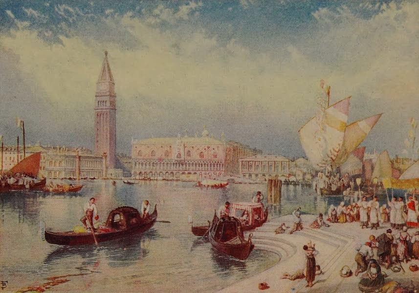 Italy - Venice from the Steps of San Giorgio Maggiore (1913)