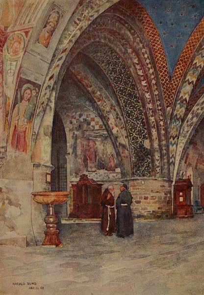 Italy - The Lower Church of St.Francis, Assisi (1913)