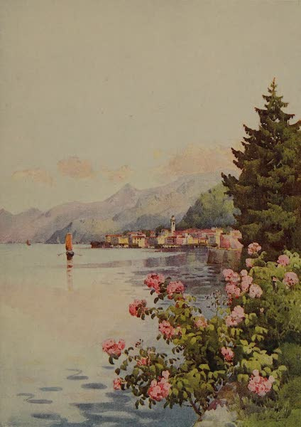 Italy - Bellagio from the Villa Melzi, Lake Como (1913)