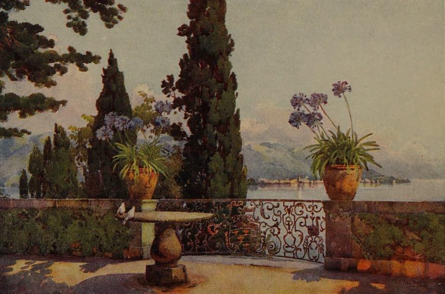 Italy - Pallanza from Isola Bella, Lake Maggiore (1913)