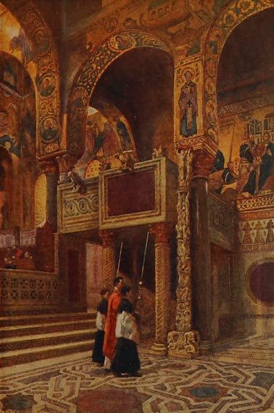 Italy - Palatine Chapel, Palermo (1913)