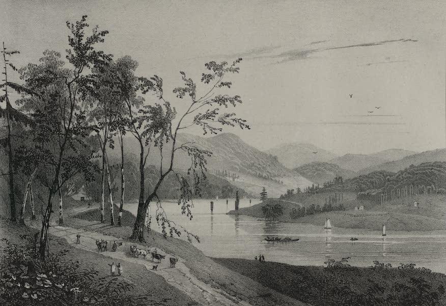 Itineraire Pittoresque du Fleuve Hudson Atlas - Jessup's Landing (1828)