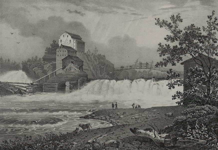 Itineraire Pittoresque du Fleuve Hudson Atlas - Mills on the Black River (1828)
