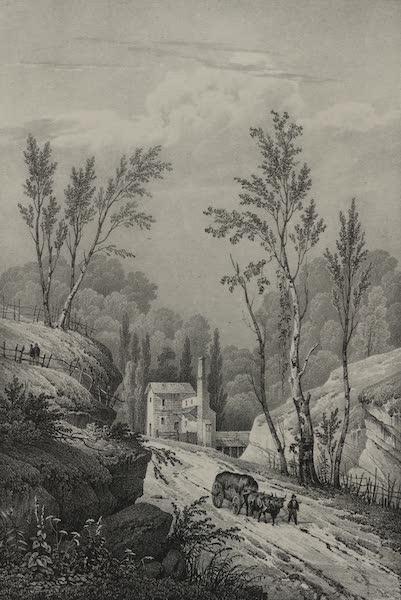Itineraire Pittoresque du Fleuve Hudson Atlas - Foundery on Jone's Creek near Baltimore (1828)