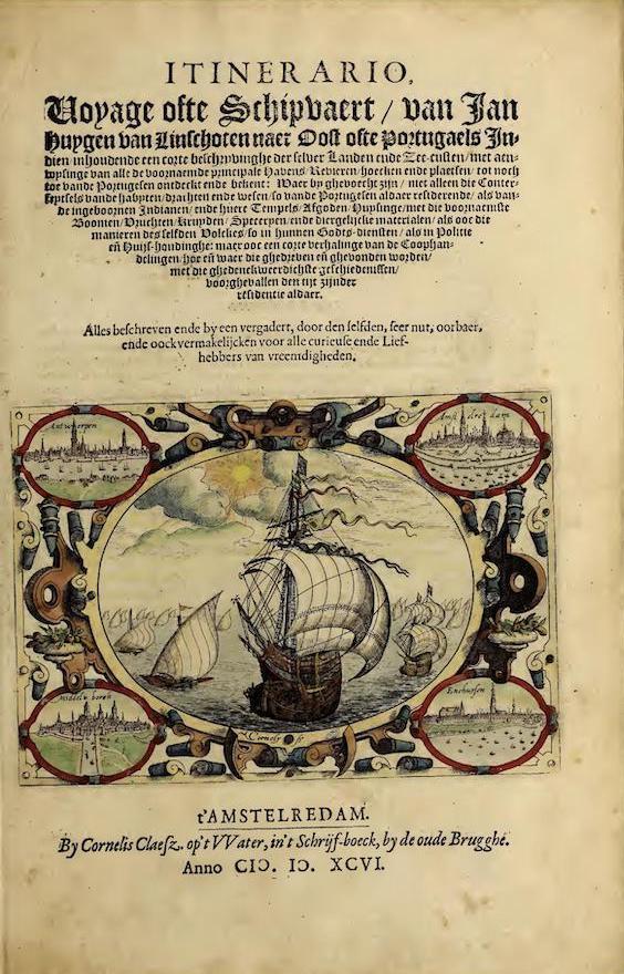 Costume - Itinerario, Voyage Ofte Schipvaert, van Ian Huygen van Linschoten