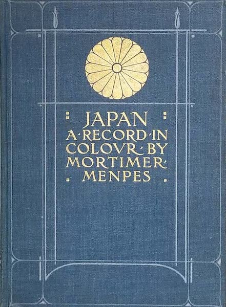 Japan : A Record in Colour - Front Cover (1901)