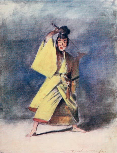 Japan : A Record in Colour - An Actor (1901)