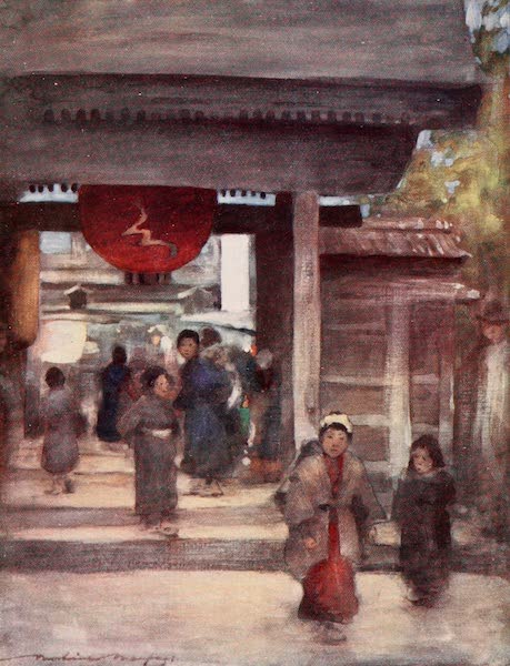 Japan : A Record in Colour - The Road to the Temple (1901)
