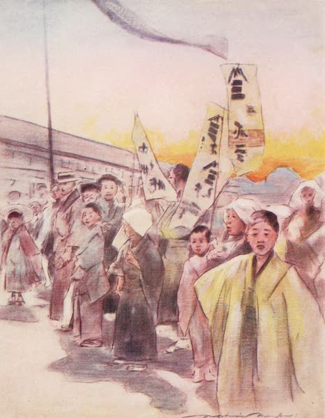 Japan : A Record in Colour - Flying Banners (1901)