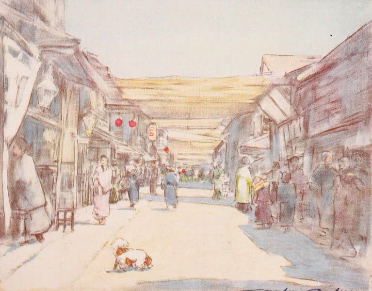 Japan : A Record in Colour - Honeysuckle Street  (1901)