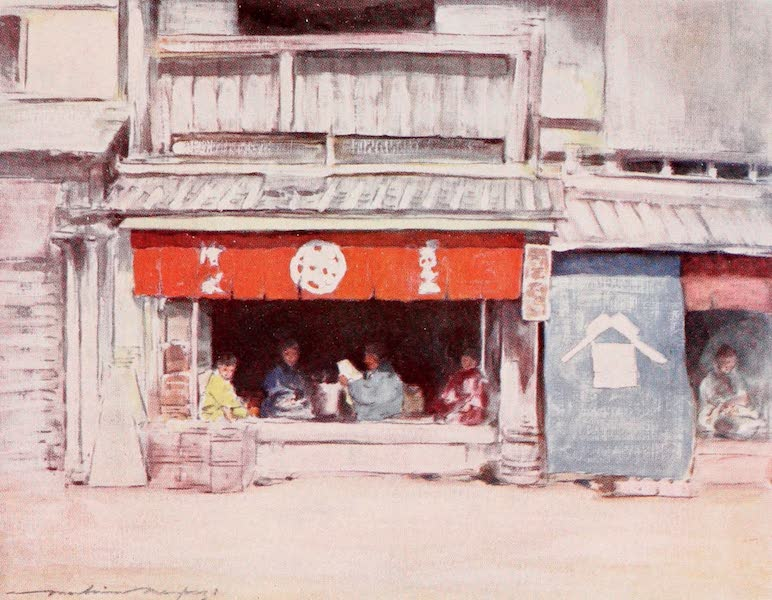 Japan : A Record in Colour - Summer Afternoon (1901)