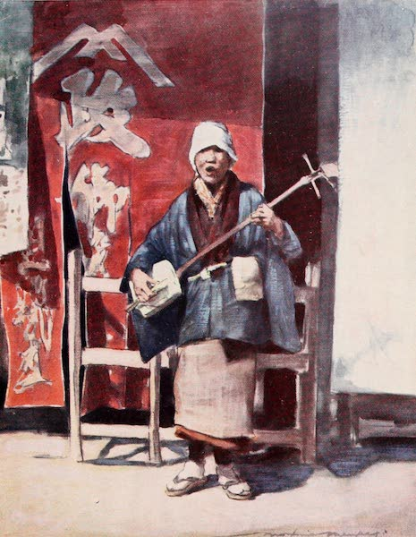 Japan : A Record in Colour - A Blind Beggar (1901)