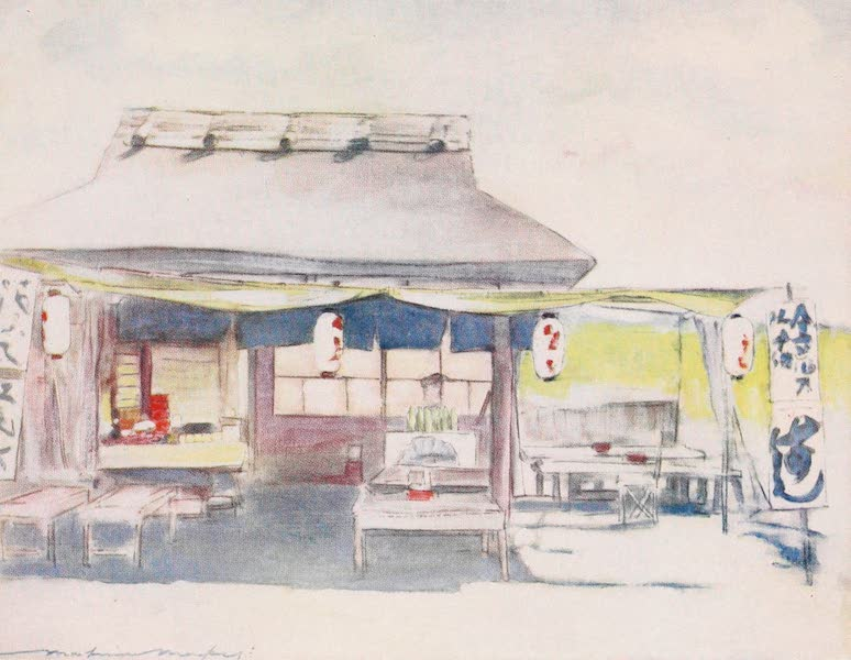 Japan : A Record in Colour - The Empty Tea-house (1901)