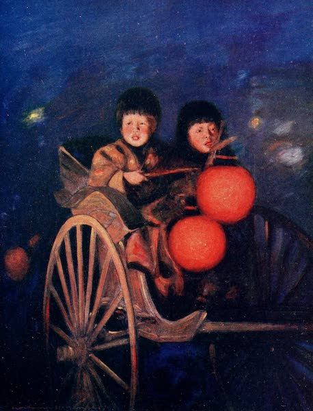Japan : A Record in Colour - By the Light of the Lanterns (1901)