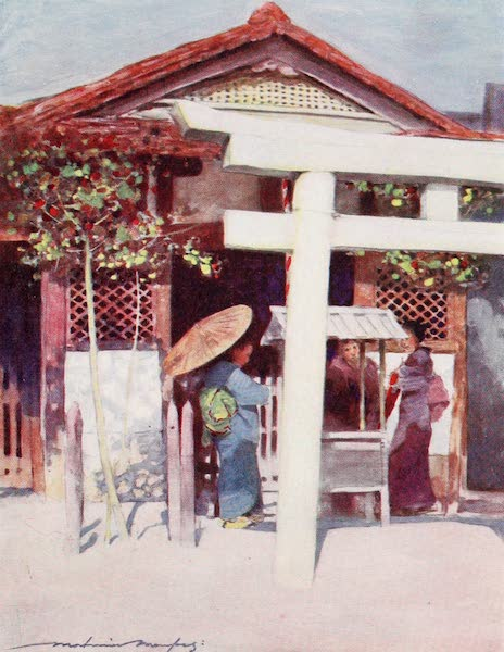 Japan : A Record in Colour - A Sunny Temple (1901)